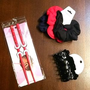🆕️Red hair accessories bundle